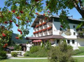 Garni Hotel Wildanger, Zöblen (Schattwald yakınında)