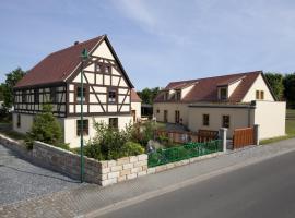 Pension Alte Schmiede, Zabeltitz (Brößnitz yakınında)