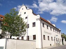 Hotel Klostergasthof, Thierhaupten (Allmannshofen yakınında)