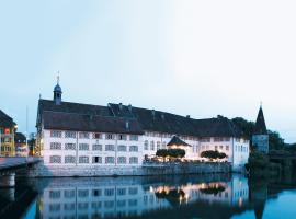 Hotel an der Aare Swiss Quality, Solothurn (Lohn-Ammannsegg yakınında)