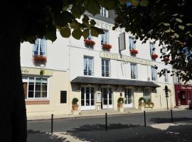 Logis Hotel Beaudon, Пьерфон (рядом с городом Croutoy)