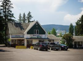 Lakeside Motel, Williams Lake (Lac la Hache yakınında)