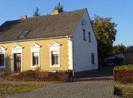 Ferienwohnung Wunderlich, Krausnick (Schlepzig yakınında)