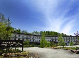 Yatsugatake Grace Hotel, Minamimaki (Kokkai yakınında)