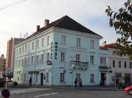 Hotel U Hroznu, Mnichovo Hradiště (Klášter Hradiště nad Jizerou yakınında)