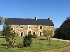 Luxury Farmhouse Brittany, Plénée-Jugon (рядом с городом Le Gouray)