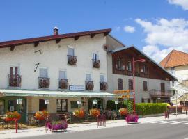 Hôtel de la Poste, Malbuisson (рядом с городом Brey-et-Maison-du-Bois)