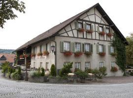 Hotel Gasthaus Hirschen, Kirchdorf (Oberendingen yakınında)