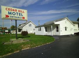 Cedar Hill Motel, Hillsboro (in de buurt van Mount Orab)