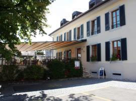 Auberge Communale à l'Union, Gilly (Tartegnin yakınında)