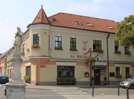 Hotel Sv. Michal, Skalica (Radějov yakınında)