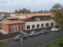Résidence Les Alizés, La Brede (рядом с городом Saucats)