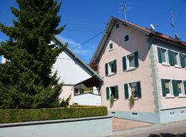 Ferienwohnung Hornecker, Eichstetten (Bahlingen yakınında)