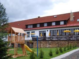 Hotel Krasna Vyhlidka, Stachy (Javorník yakınında)