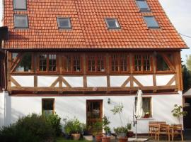 Rhumeblume, Rüdershausen (Brochthausen yakınında)