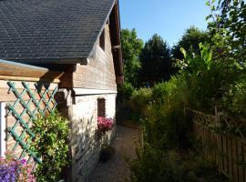 Maison Chemin Des Buttereaux, Fourneville (рядом с городом Le Theil-en-Auge)
