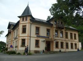 Hotel Kralicek, Turnov (Olešnice yakınında)