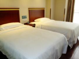 GreenTree Inn Jiangsu Suzhou Huqiu West Chengbei Road Fulin Square Express Hotel, Suzhou (Huangdai yakınında)