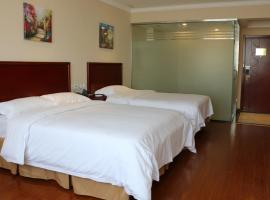 Greentree Inn Jiangsu Suzhou Industrial Park Expo Express Hotel, Suzhou (Wangxiang yakınında)