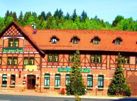 Hotel Zum Goldenen Hirsch, Hirschbach (Erlau yakınında)
