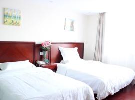 GreenTree Inn Jiangsu Yangzhou Jiangdu Longcheng Road Express Hotel, Jiangdu (Daqiao yakınında)