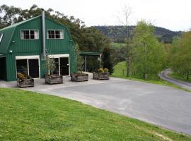 The Barn @ Charlottes Hill, Healesville (Healesville West yakınında)