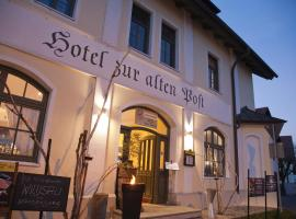 Hotel und Landgasthof zur alten Post, Moorenweis