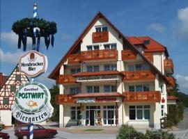 Hotel-Landpension Postwirt, Kirchensittenbach (Pommelsbrunn yakınında)