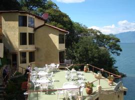 Hotel Restaurante La Villa de los Dioses, San Antonio Palopó (рядом с городом Agua Escondida)
