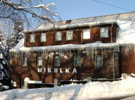 Pension Mikulka, Mikulov v Krušných Horách (Dubí yakınında)
