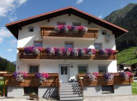 Haus Alpenrose, Sankt Leonhard im Pitztal (Piösmes yakınında)