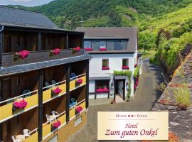 Moselstern Hotel Zum guten Onkel, Bruttig-Fankel