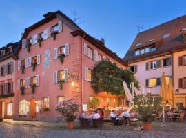 Der Löwen in Staufen mit Haus Goethe, Staufen im Breisgau
