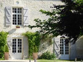 B&B Gagnepain La Riviere, La Clisse (рядом с городом Rétaud)