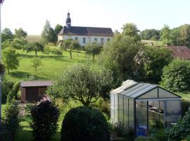 Ferienwohnung Adelheid, Eggenbach (Untermerzbach yakınında)