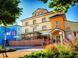 Hotel Abácie & Wellness, Valašské Meziříčí (Hustopeče Nad Bečvou yakınında)