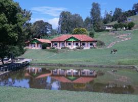 Hotel Fazenda Recanto dos Lagos, Itamonte (Itanhandu yakınında)