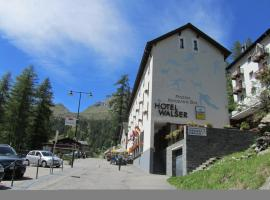 Walser App.31 Pozzi, Bosco Gurin