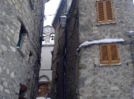 La Dimora Del Cavaliere, Pietracamela (Fano Adriano yakınında)