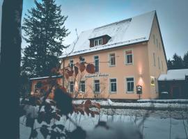 Berggasthof Waldlust, Wunsiedel (Bad Alexandersbad yakınında)
