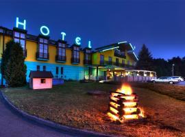 Hotel Sloup, Soběslav (Borkovice yakınında)
