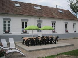 Gite a la Campagne, Nempont-Saint-Firmin (рядом с городом Colline-Beaumont)