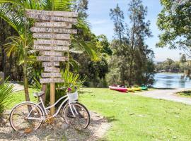 Seven Mile Beach Holiday Park, Gerroa (Broughton Vale yakınında)