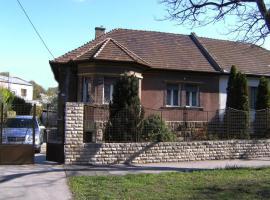 Ferienhaus in Budapest mit Garten