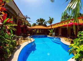 Hotel Iguana Verde, Orotina (Bolsón yakınında)