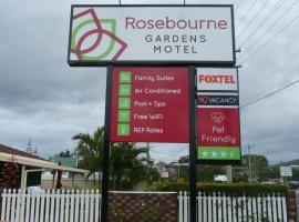 Rosebourne Gardens Motel, Woolgoolga (Corindi yakınında)