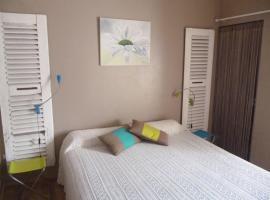Chambres d'Hôtes La Rose des Vents, Ginestas (рядом с городом Ventenac-d'Aude)