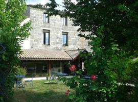 Hotel Entre 2 Mers Proche Bordeaux, Carbon-Blanc (рядом с городом Bassens)