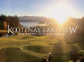 Kootenay Lakeview Spa Resort & Event Centre, Balfour (Riondel yakınında)