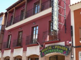 Hostal Posada Entreviñas, Valdepeñas (Santa Cruz de Mudela yakınında)
